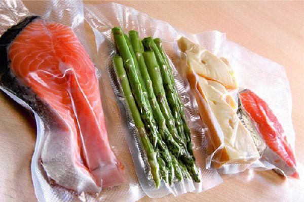 Thực phẩm giữ được lâu với máy đóng gói hút chân không