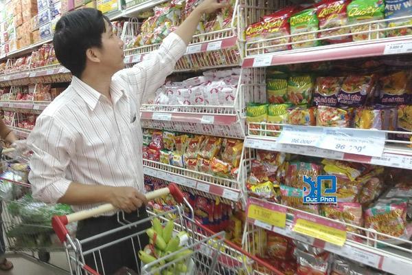 Cách chọn mua thực phẩm bao gói sẵn