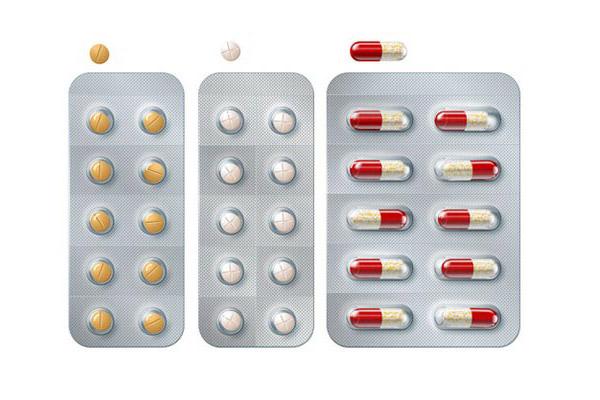 Một số mẫu vỉ thuốc trên thị trường
