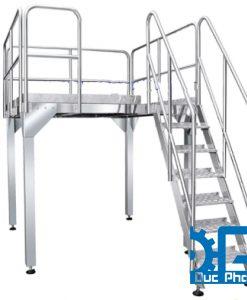 Cầu thang cân định lượng