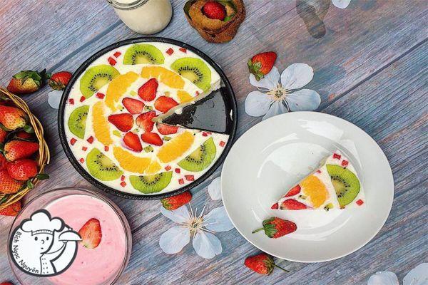 Bánh sữa chua trái cây lạ miệng