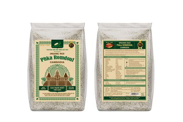 Gạo được đóng gói theo tiêu chuẩn nhất định