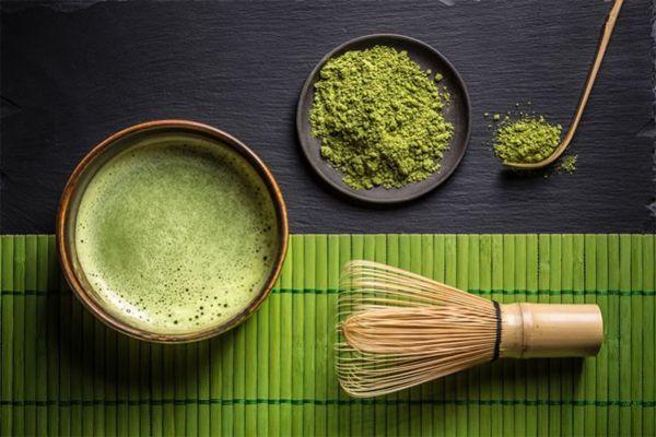 Nguyên liệu trà xanh đẹp mắt, bổ dưỡng