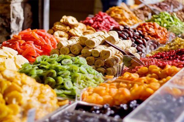 Hoa quả là mặt hàng thường xuyên được sấy chân không