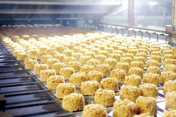 Quy trình sản xuất mì ăn liền