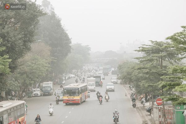 Tình trạng ô nhiễm không khí đáng báo động ở Việt Nam
