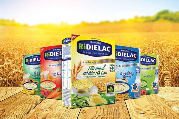 Bột dinh dưỡng Dielac cho trẻ ăn dặm