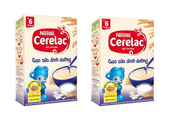 Bột ngũ cốc dinh dưỡng Nestle