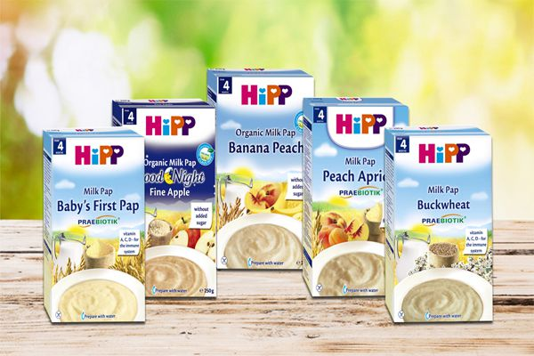 Bột dinh dưỡng hoa quả sữa bắp HiPP được nhiều mẹ Việt Nam tin dùng