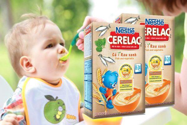 Hương vị giống với sữa được hòa quyện với vị của trái cây giúp bé thích nghi nhanh