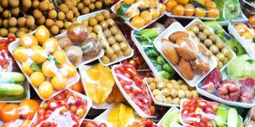Đóng gói hoa quả